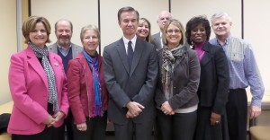 KHC Leadership Team with Harold Miller