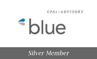 Silver - Blue
